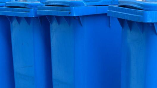 Zusätzliche Abfuhrtermine der blauen Tonne