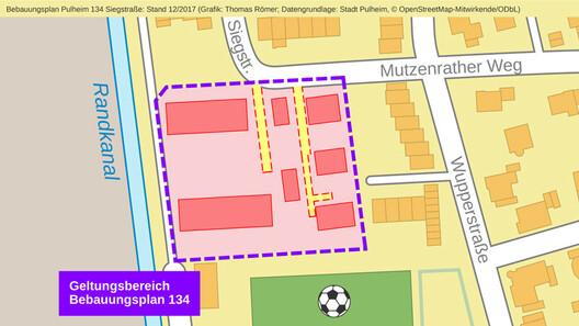 Bebauungsplan Siegstraße liegt aus