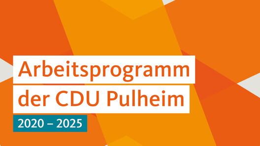 Arbeitsprogramm der CDU Pulheim 2020-2025
